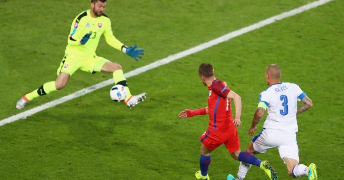 Jamie Vardy England v Slovakia