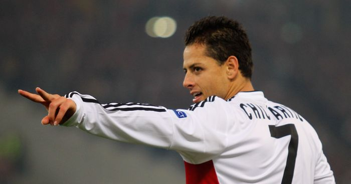 Javier Hernandez: Points fingers at former clubs