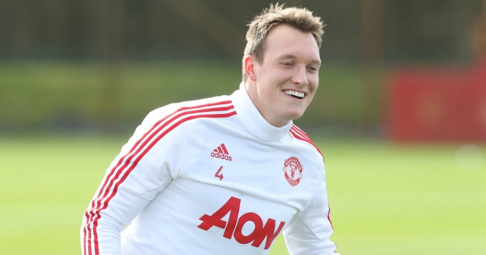 Phil Jones: Told he has a United future