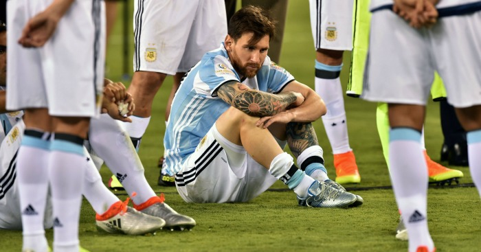 Lionel Messi: Forward missed a penalty as Argentina lost