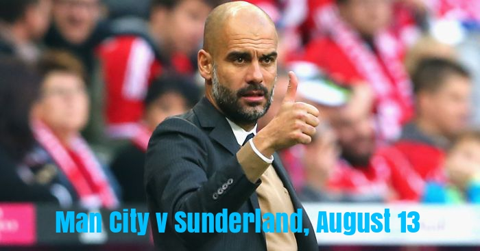 Pep Guardiola: Thumbs up to Sunderland at home