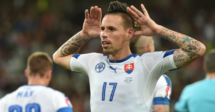 Marek Hamsik: Linked with move to Anfield.