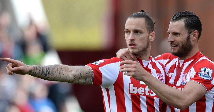 Marko Arnautovic: In last year of Stoke contract