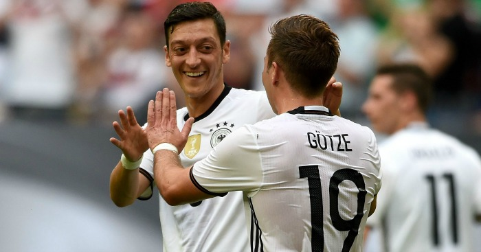 Mesut Ozil: Has been asked about the PL by Germany team-mates