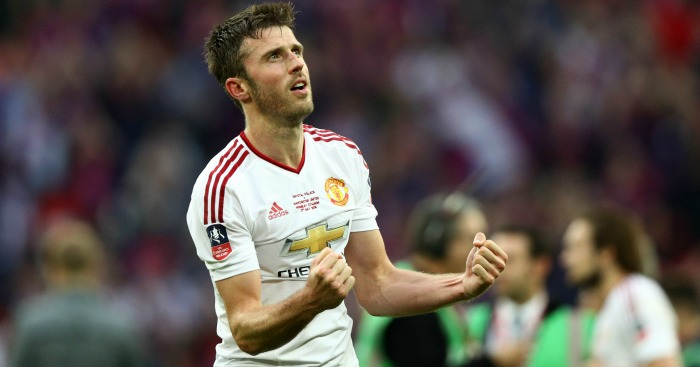 Michael Carrick: Midfielder's future was in doubt