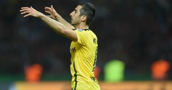 Henrikh Mkhitaryan: Heading for United