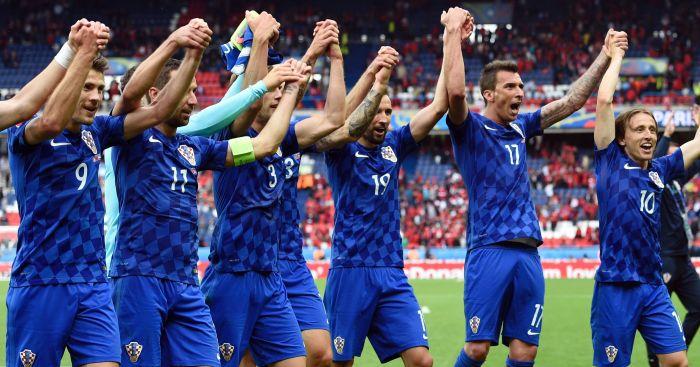 Luka Modric: Celebrates win with team-mates