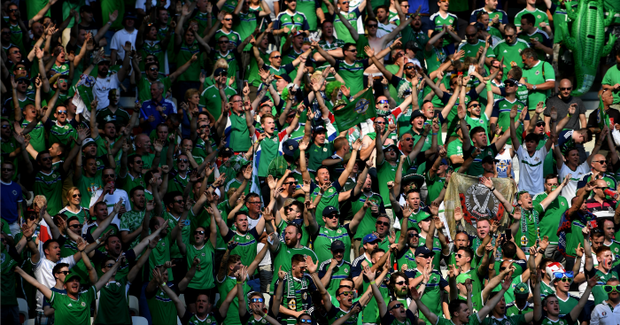 Northern Ireland fans: One fan has died in Nice