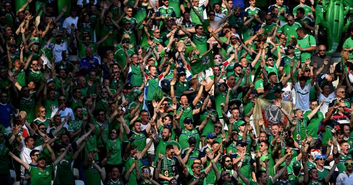 Northern Ireland fans: One fan has died in Nice