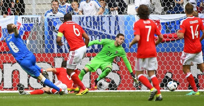 Ondrej Duda scores Slovakia v Wales