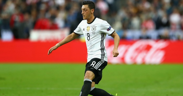 Mesut Ozil: Scores winner for Germany