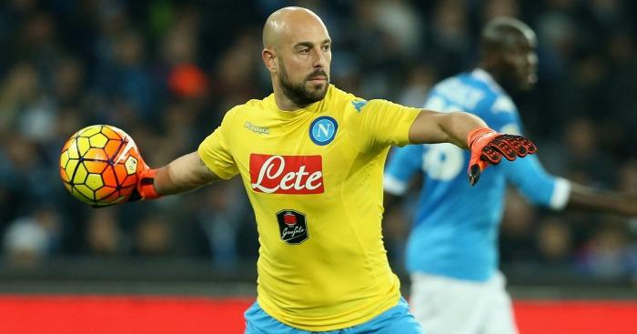 Pepe Reina: Napoli stopper