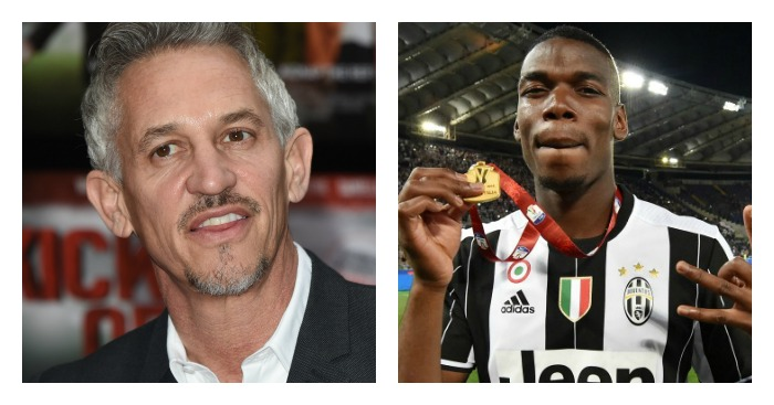Gary Lineker: Hit out at Paul Pogba
