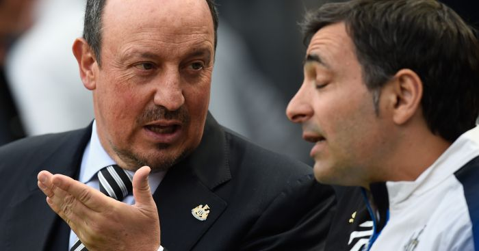 Rafael Benitez: has appointed new coach