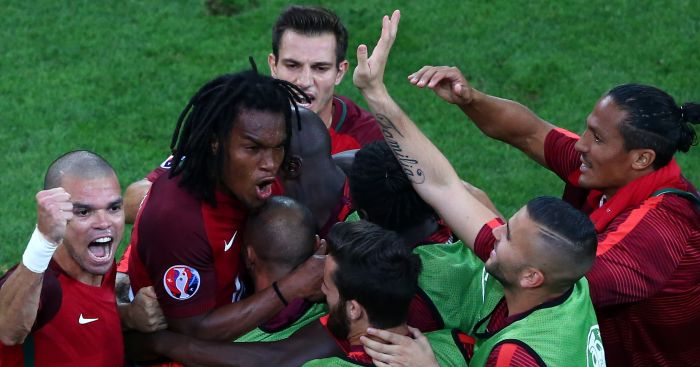 Renato Sanches: Brought Portugal back level