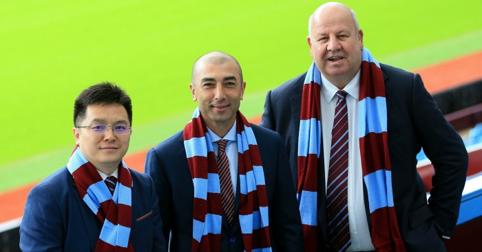 Roberto Di Matteo: Officially unveiled by Villa on Wednesday