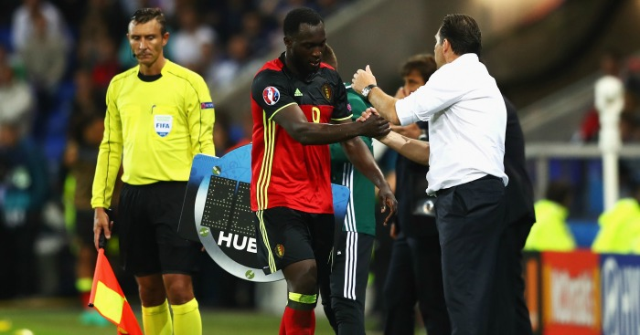 Romelu Lukaku: Subbed off after disappointing match