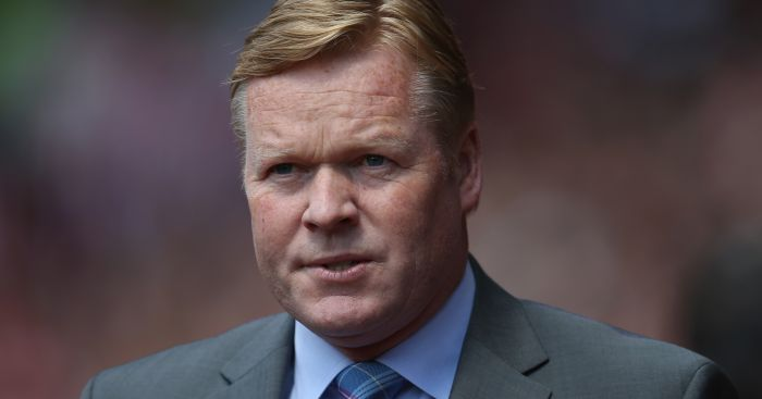 Ronald Koeman: Snaps up League One goalkeeper