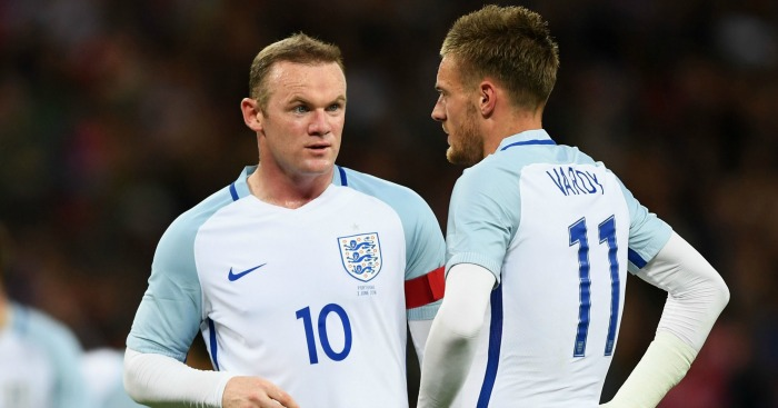 Wayne Rooney: Captain reportedly unhappy with Jamie Vardy