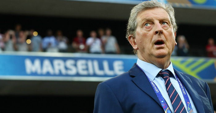 Roy Hodgson: Takes the positives despite late blow
