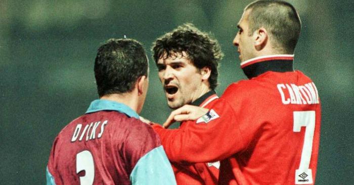 Roy Keane Eric Cantona