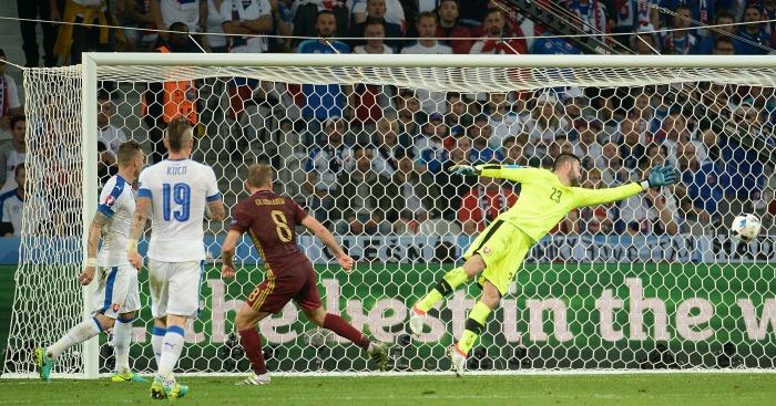 Russia score v Slovakia
