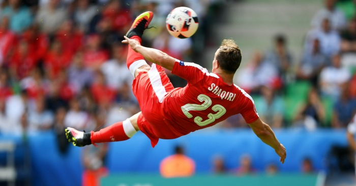 Xherdan Shaqiri: Goal of the tournament contender
