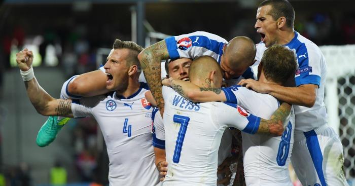Slovakia v Russia Marek Hamsik