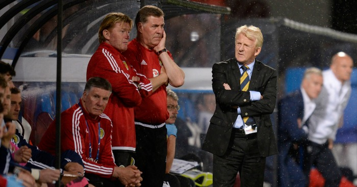 Gordon Strachan: Made a 'huge mistake'