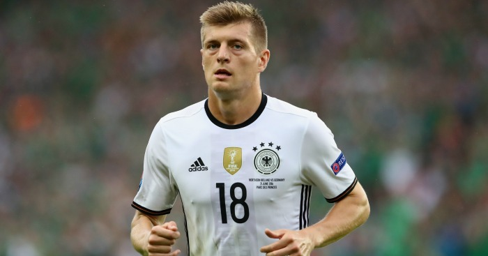 Toni Kroos: Midfielder was a target for David Moyes