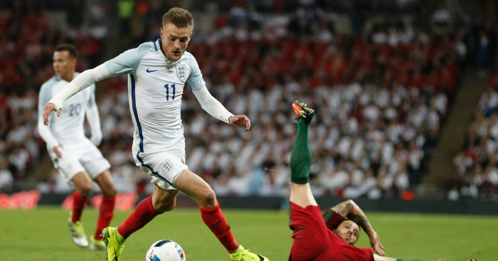 Jamie Vardy: England didn't play to his strengths