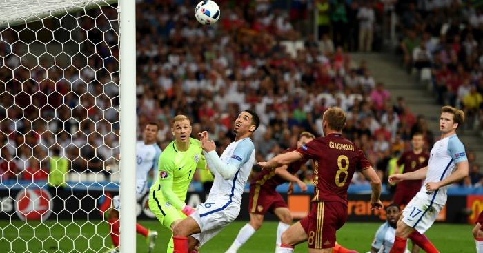 Vasili Berezutski: Russia goalscorer sees his header beat Hart
