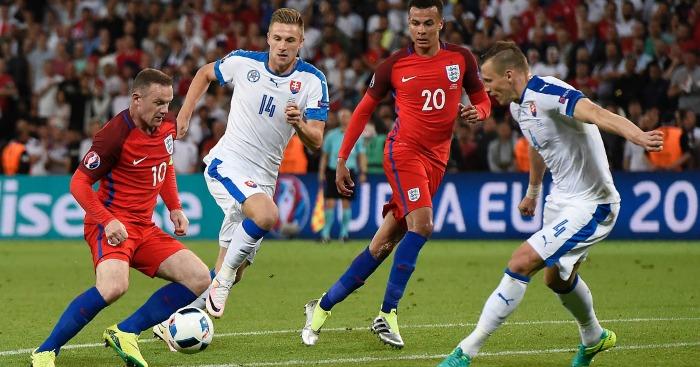 Wayne Rooney England v Slovakia