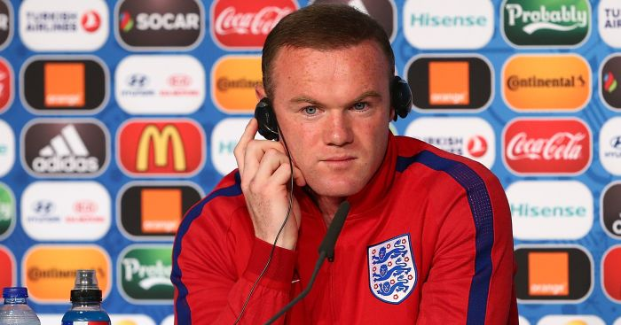 Wayne Rooney: Wayne Rooney: Faced some tough questions