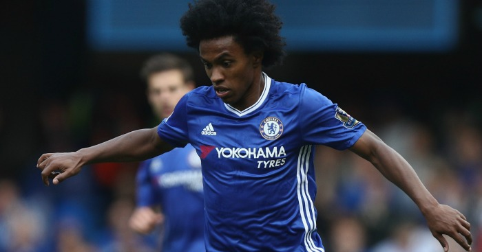 Willian: United link
