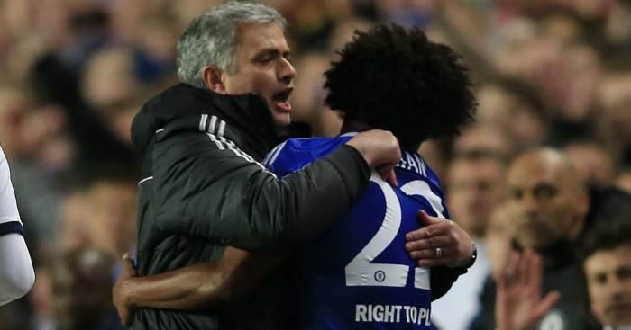 Willian Jose Mourinho Chelsea