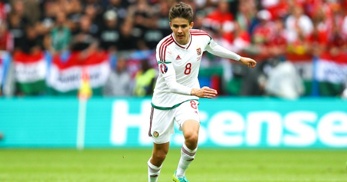 Adam Nagy: Put in many key performances for Hungary during the Euros.