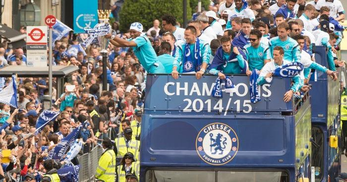 Chelsea: Premier League winners in 2015