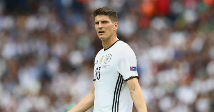 Mario Gomez: Linked with move to West Ham.