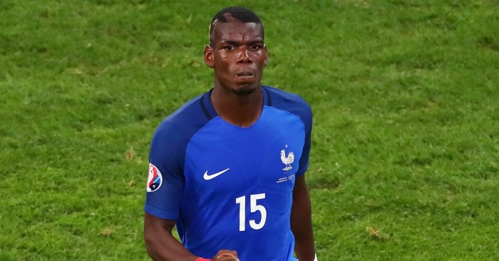 Paul Pogba: Left out of the France side