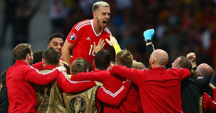 Aaron Ramsey: Inspired Wales from midfield