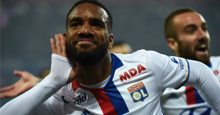 Alexandre Lacazette: Not likely to be subject of Arsenal bid