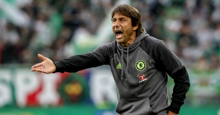 Antonio Conte: Manager typically passionate on the sideline
