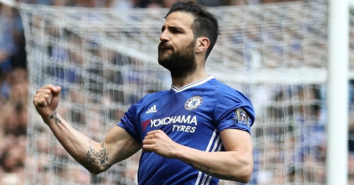 Cesc Fabregas: Unhappy with lack of football