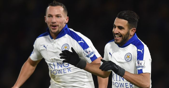 Danny Drinkwater and Riyad Mahrez: Talks to be held