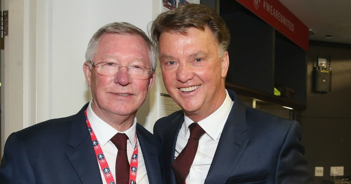 Sir Alex Ferguson & Louis van Gaal: Backed by Giggs