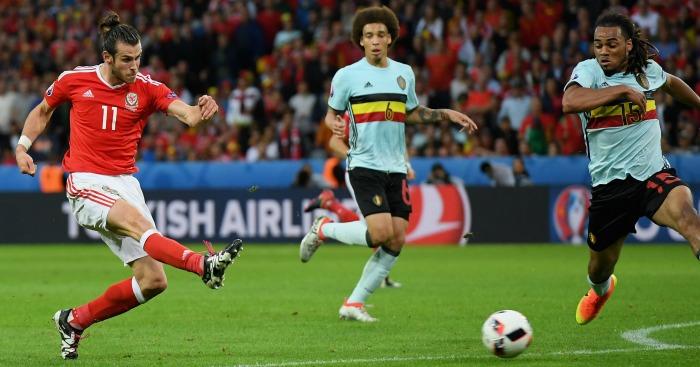 Gareth Bale Wales v Belgium
