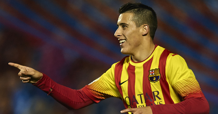 Cristian Tello: Agent jetting in for Spurs talks