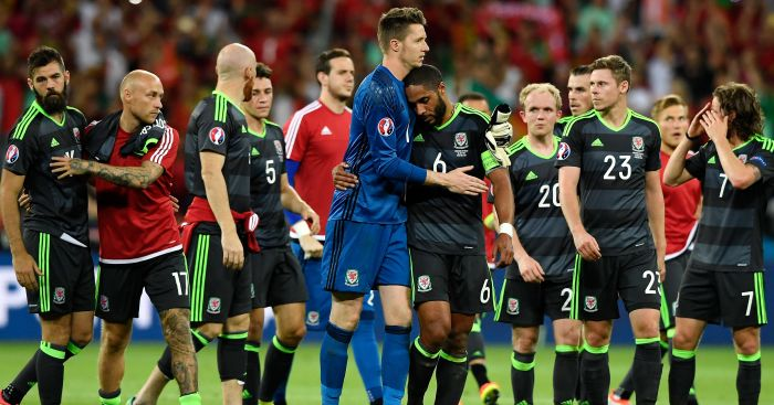 Wales: Beaten in the semi-finals by Portugal