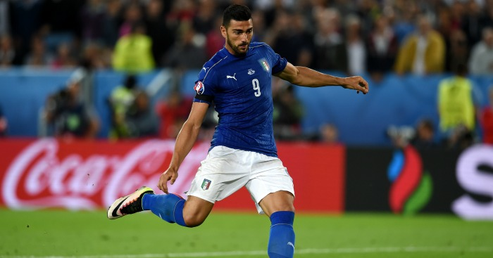 Graziano Pelle: Striker part of Italy team beaten by Germany
